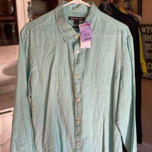 Men's Tailor/ Classic Michael Kors Casual Shirt